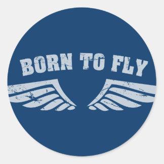 Llevado volar las alas etiquetas