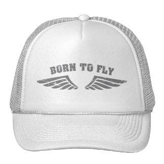 Llevado volar las alas gorras de camionero