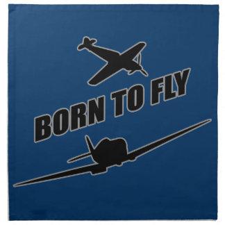 Llevado volar servilletas