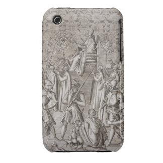 Llevan a papa Sixto V (1521-90) a la ceremonia Funda Para iPhone 3 De Case-Mate