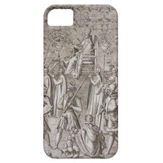 Llevan a papa Sixto V (1521-90) a la ceremonia Funda Para iPhone SE/5/5s