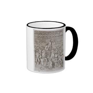 Llevan a papa Sixto V (1521-90) a la ceremonia Taza De Café