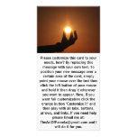Llevar a cabo el Sun 1 Tarjetas Personales Con Fotos