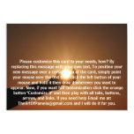 Llevar a cabo el Sun 2 Invitación 12,7 X 17,8 Cm