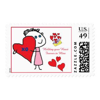 llevar a cabo sus sellos del corazón para siempre