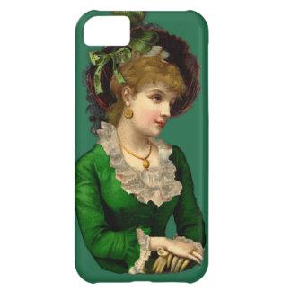 Llevar el verde el el día de St Patrick Funda Para iPhone 5C