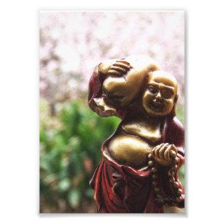 Llevar la foto de Buda de la carga
