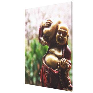 Llevar la lona de Buda de la carga Impresiones En Lona