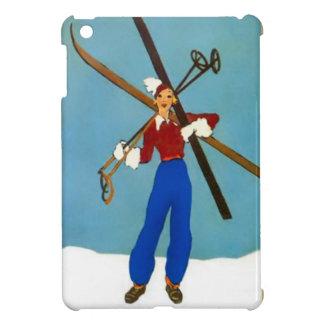 Llevar los esquís iPad mini cobertura