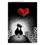 Llevar su amor conmigo tarjeta de felicitación