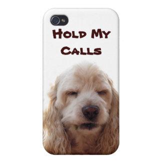 Lleve a cabo mis llamadas iPhone 4 carcasa