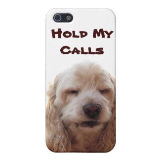 Lleve a cabo mis llamadas iPhone 5 funda