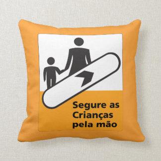 Lleve a cabo su muestra de los niños, el Brasil Cojines
