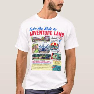 Lleve a los niños a Adventureland Playera