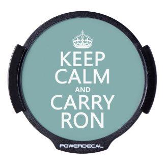 Lleve a Ron Decal LED Para Ventana