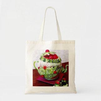 Lleve el bolso con la pintura al óleo bolsa tela barata