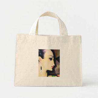 Lleve el bolso - mujer elegante del art déco de lo bolsa tela pequeña