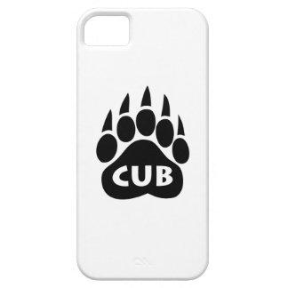 """Lleve el caso del iPhone 5 de """"Cub"""" de la pata del iPhone 5 Fundas"""