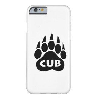 """Lleve el caso del iPhone 6 de """"Cub"""" de la pata del Funda Para iPhone 6 Barely There"""