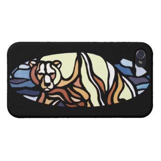 Lleve el caso nativo del iPhone del arte del caso iPhone 4 Protector