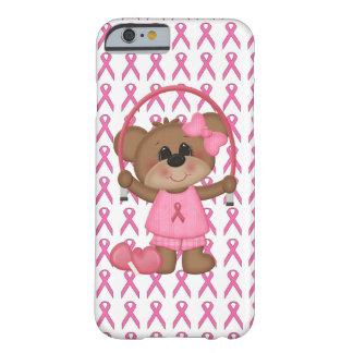 Lleve el caso rosado del iPhone 6 de la cinta de Funda Para iPhone 6 Barely There