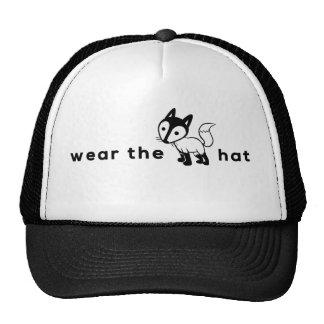 ¡Lleve el gorra del zorro?! Enciéndase, dígalo ráp