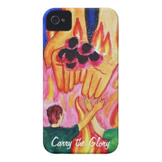 Lleve la caja del iPhone de la gloria Carcasa Para iPhone 4