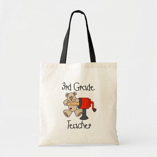 Lleve las 3ro camisetas y regalos del profesor del bolsas
