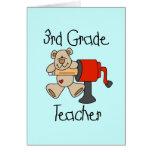 Lleve las 3ro camisetas y regalos del profesor del tarjetas