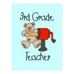Lleve las 3ro camisetas y regalos del profesor del postales