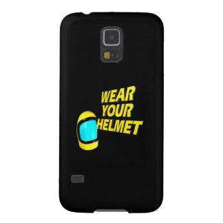Lleve su casco 2 carcasa para galaxy s5