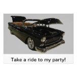 Lleve un paseo mi fiesta invitación