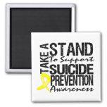 Lleve un soporte la prevención del suicidio de la  imán para frigorifico