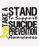 Lleve un soporte la prevención del suicidio de la camisetas
