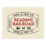 Lleve un viaje la lectura del ferrocarril postal