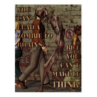 Lleve una postal del zombi