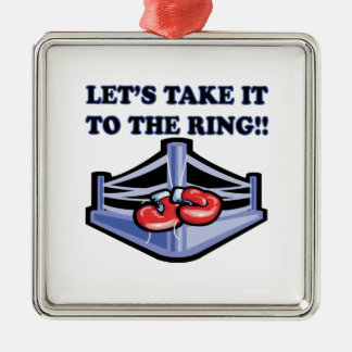 Llévelo el anillo adornos de navidad