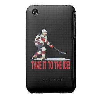 Llévelo el hielo Case-Mate iPhone 3 cárcasa