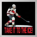 Llévelo el hielo impresiones