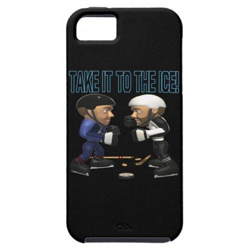 Llévelo el hielo iPhone 5 Case-Mate protectores