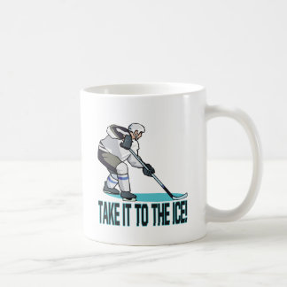 Llévelo el hielo tazas de café