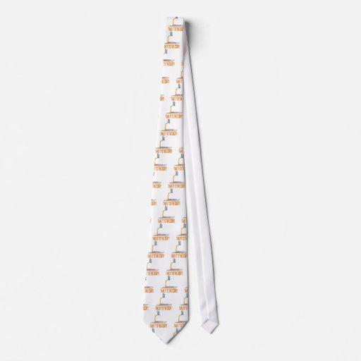 Llévelo la corte corbata