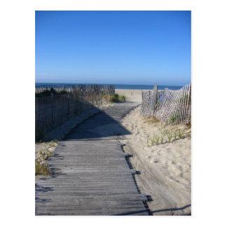 ¡Lléveme a la playa! Postal