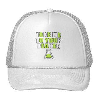 Lléveme a su cubilete gorras de camionero
