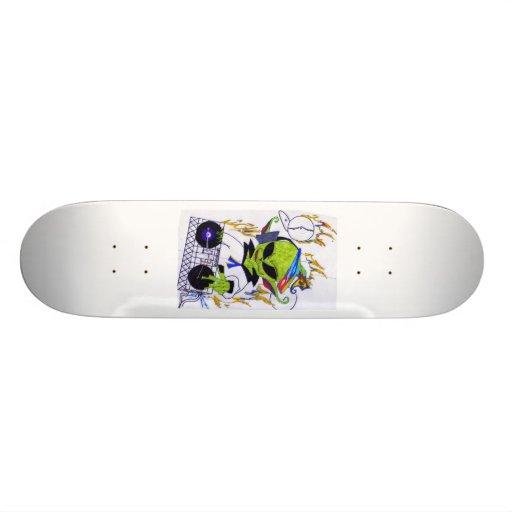 lléveme a su líder patineta personalizada
