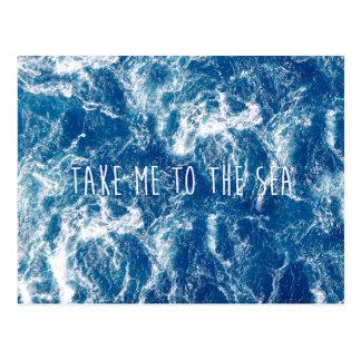 Lléveme al mar postales