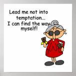 Lléveme no en humor de la tentación impresiones