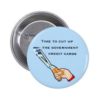 Llévese las tarjetas de crédito del gobierno pin
