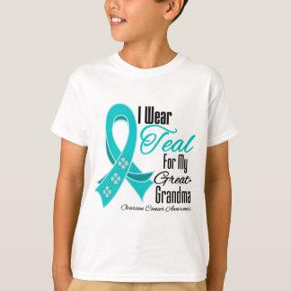 Llevo a la Grande-Abuela del cáncer ovárico de la Remera