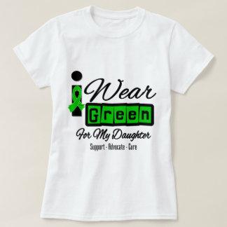 Llevo a la hija verde de la cinta (retra) - playeras